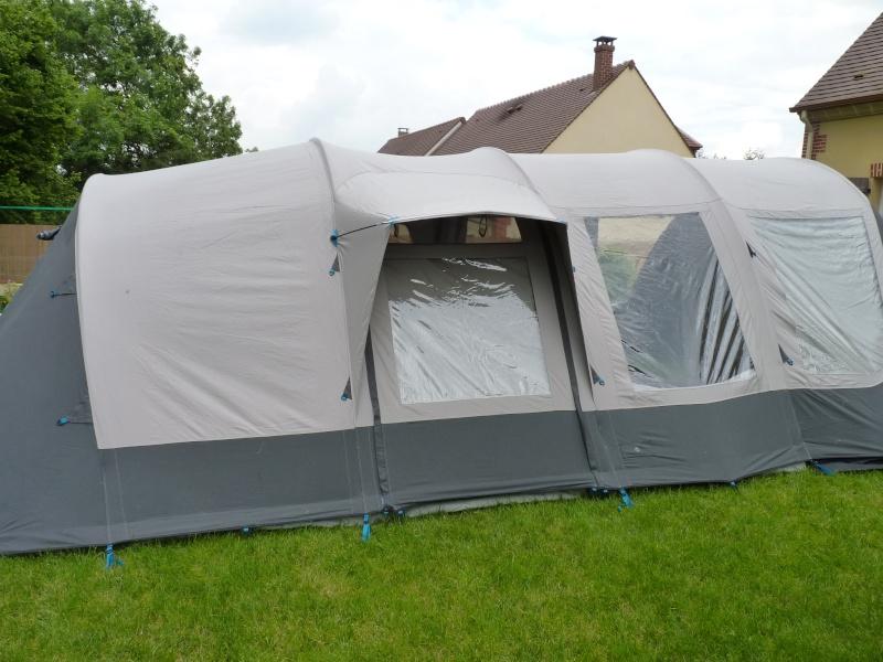 montage tente Bardini Dream Lodge 400 P1020729
