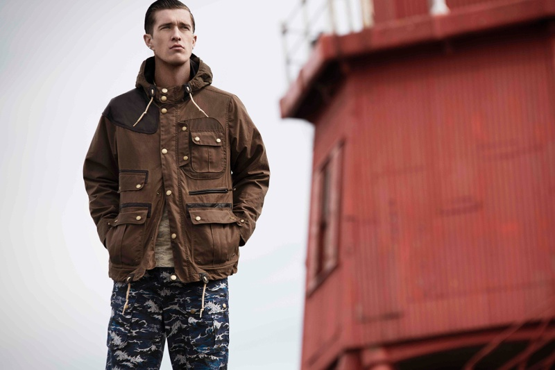 Barbour x White Mountaineering Teaser Barbou13