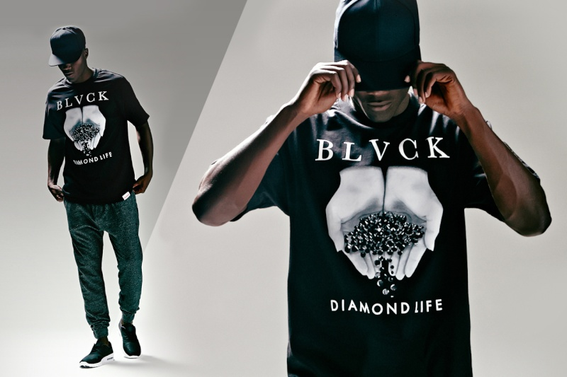 Black Scale x Diamond Supply Co. x PacSun 2014 Summer Lookbook Black-13