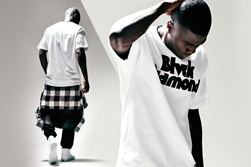 Black Scale x Diamond Supply Co. x PacSun 2014 Summer Lookbook Black-14