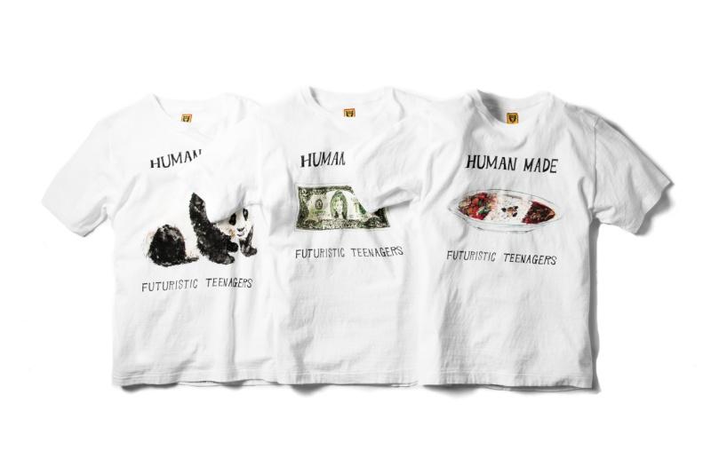 HUMAN MADE 2014 Summer T-Shirts Human-10