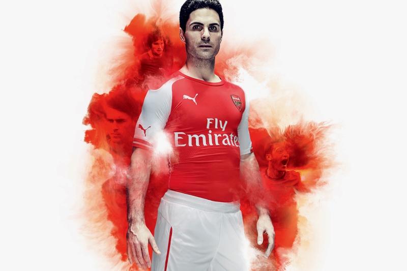 PUMA Unveils Arsenal's New 2014/15 Kits Puma-u10