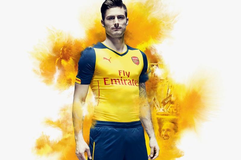 PUMA Unveils Arsenal's New 2014/15 Kits Puma-u12