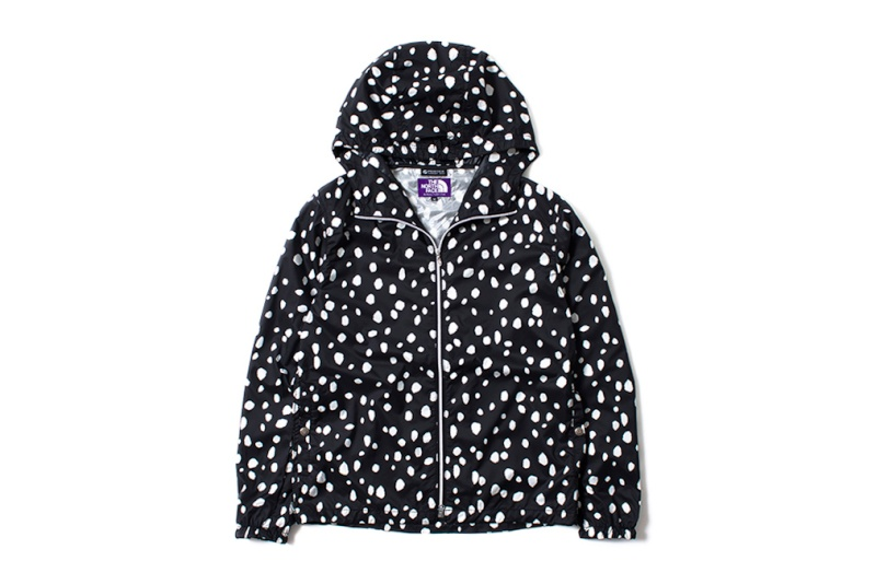 "THE NORTH FACE PURPLE LABEL 2014 Summer ""Dalmatian Print"" Collection The-no10"