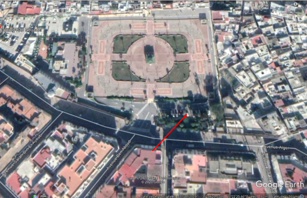 [Maroc Camp/Découverte] Parking réservé  aux  CC en centre ville de Tétouan Parkin10