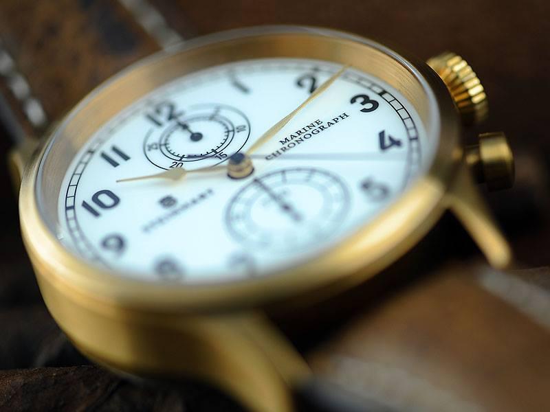 Nouvelle Steinhart Marine Chronograph bronze premium Steinh12