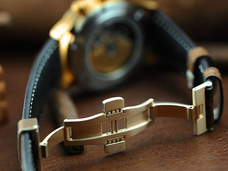 Nouvelle Steinhart Marine Chronograph bronze premium Steinh13