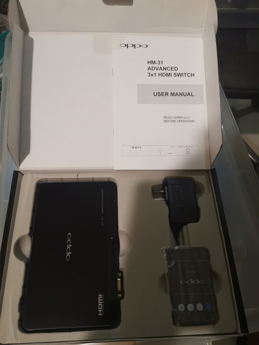 Oppo HM-31 3 x 1 HDMI switch Img_2038