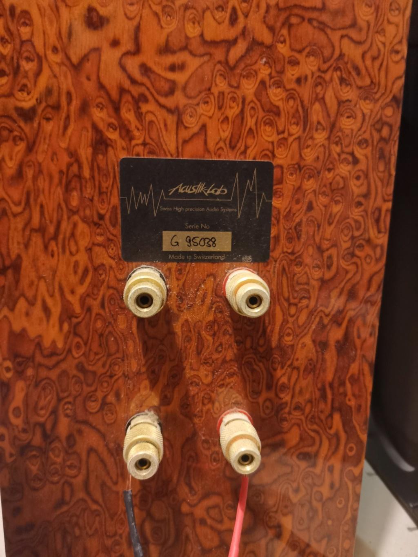 Acustik Lab Bolero Grande Floorstands and Stella Centre Speakers Img_2079