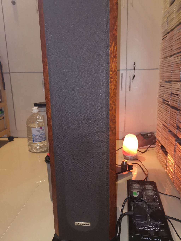 Acustik Lab Bolero Grande Floorstands and Stella Centre Speakers Img_2084
