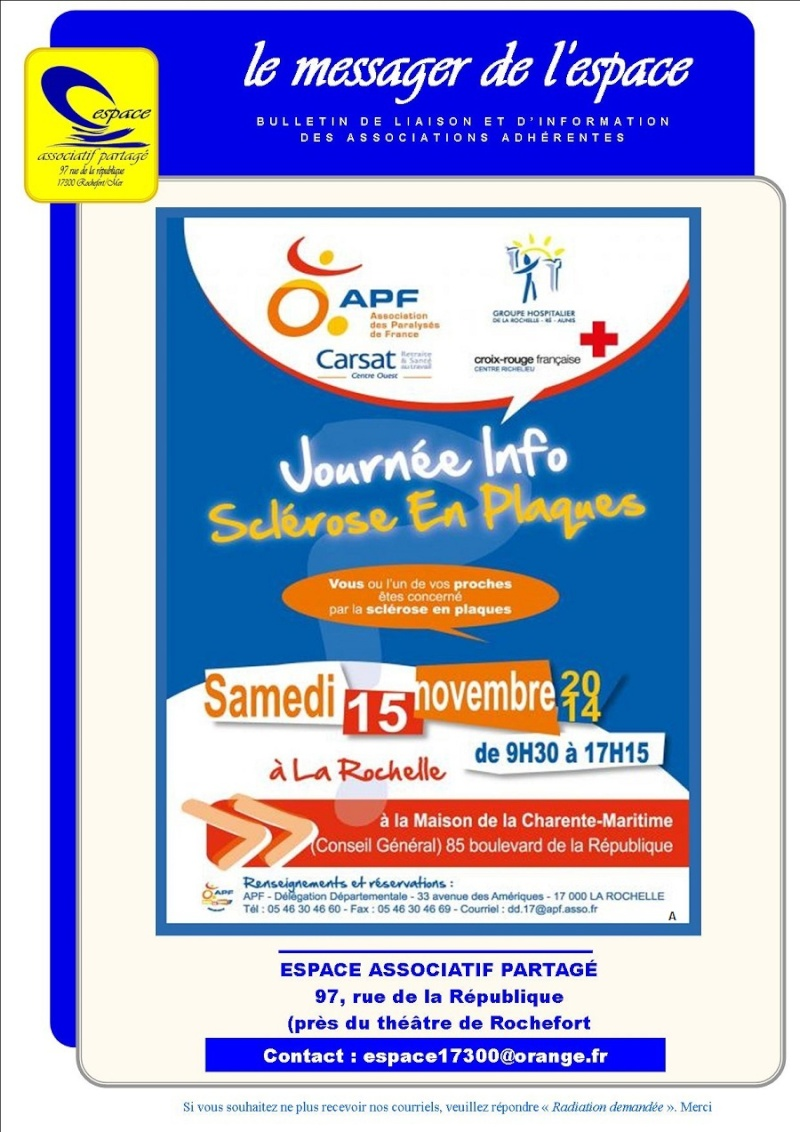 Journée info-Sclérose en plaques Sclyro10