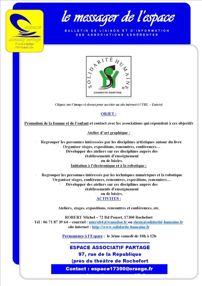 Solidarité humaine, l'association Solida10