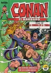 Agonía, martirio y muerte de CONAN El Bárbaro Ahogad10
