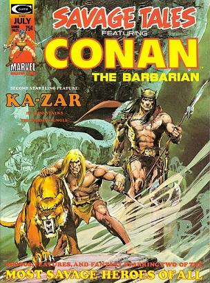 Portadas de las colecciones diversas de Conan Nc510