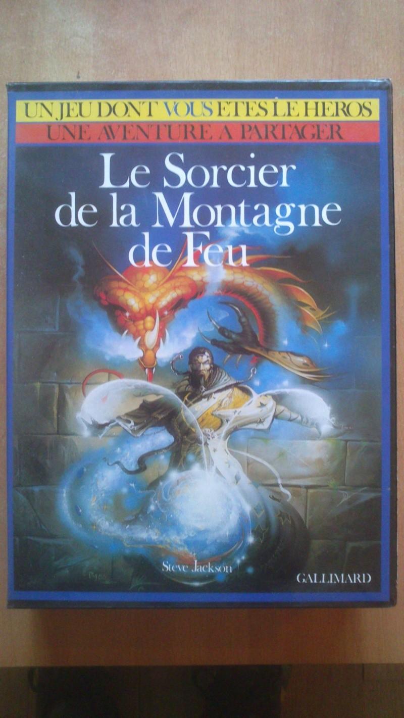 """Estimation jeu de société """"Le sorcier de la montagne de feu"""". Mega_110"""