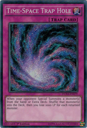 [Yu-Gi-Oh! Card Discussion!] Time-Space Trap Hole! (Best Trap Of The Format?) Time-s10