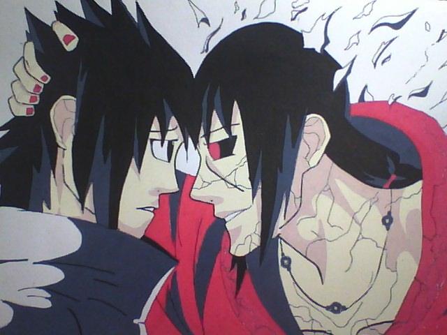 Petite galerie dessins Naruto divers  Itachi10