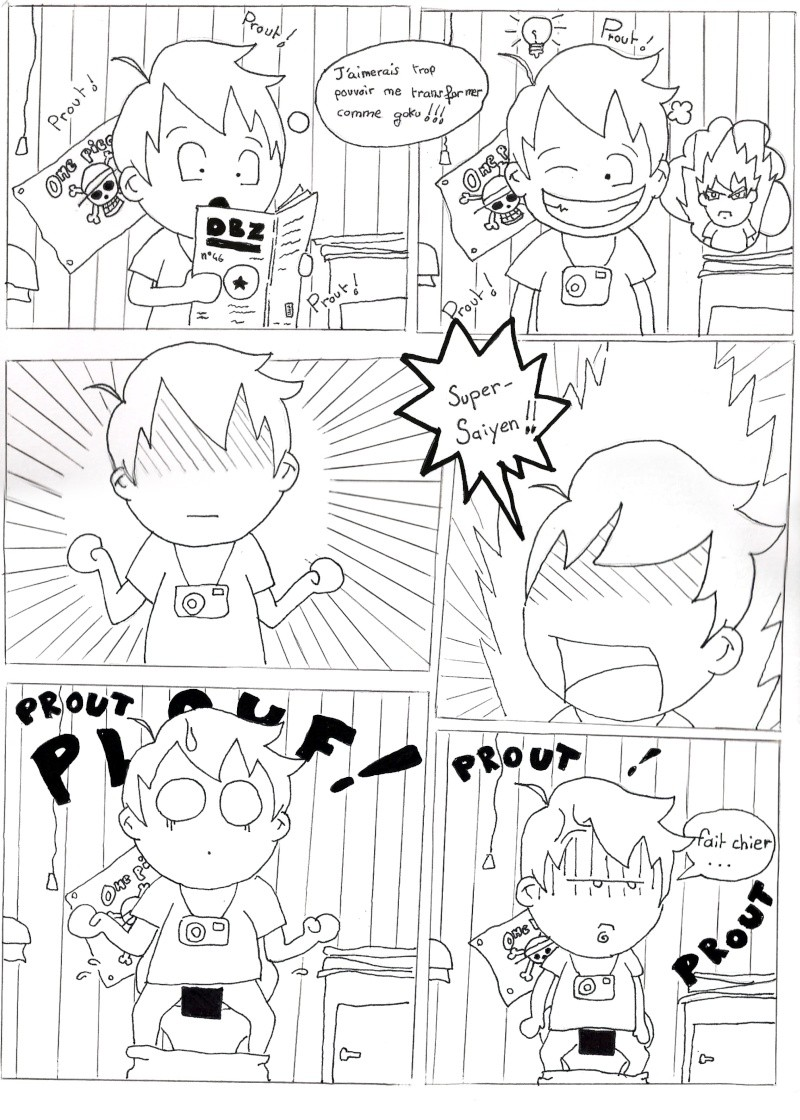 "Mon manga:"" Seiji's Road ""  Page210"