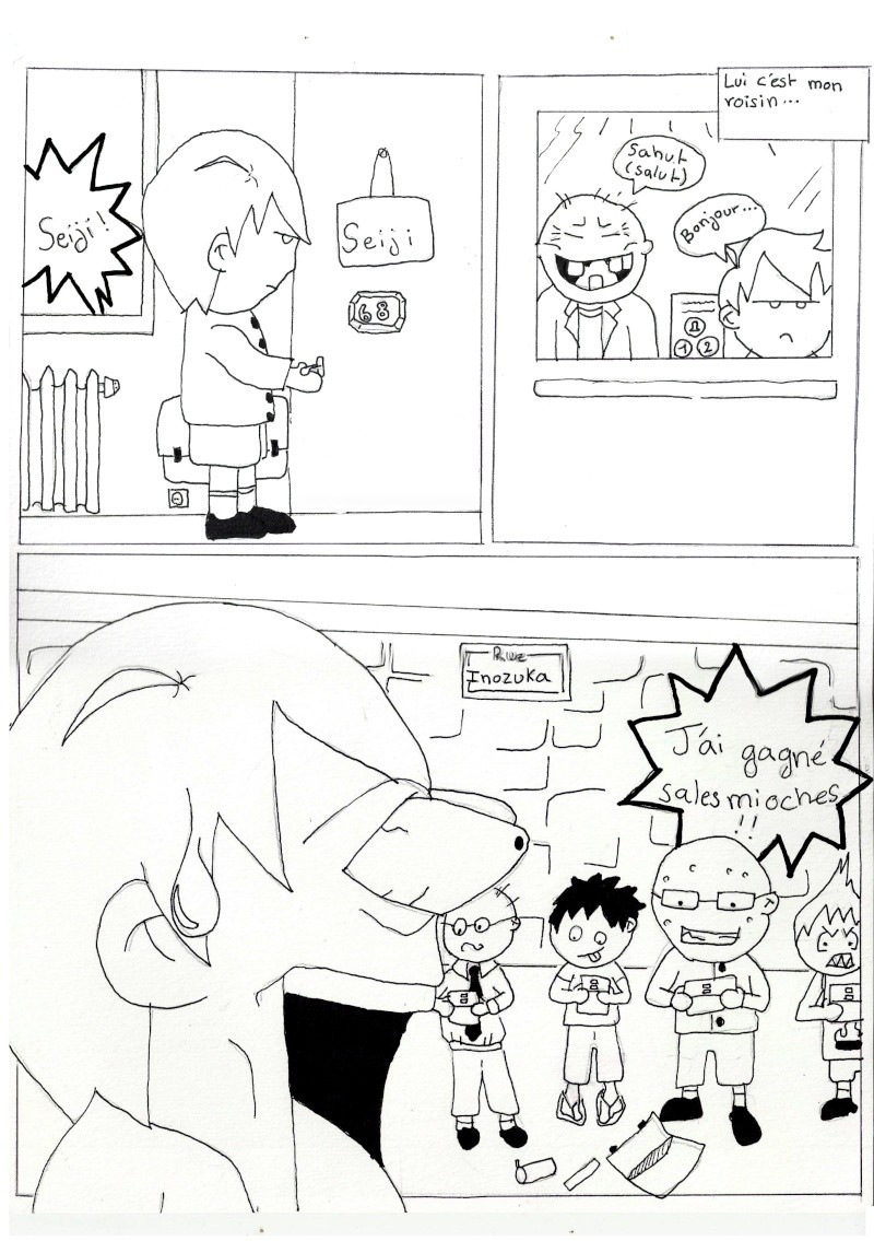 "Mon manga:"" Seiji's Road ""  Page310"