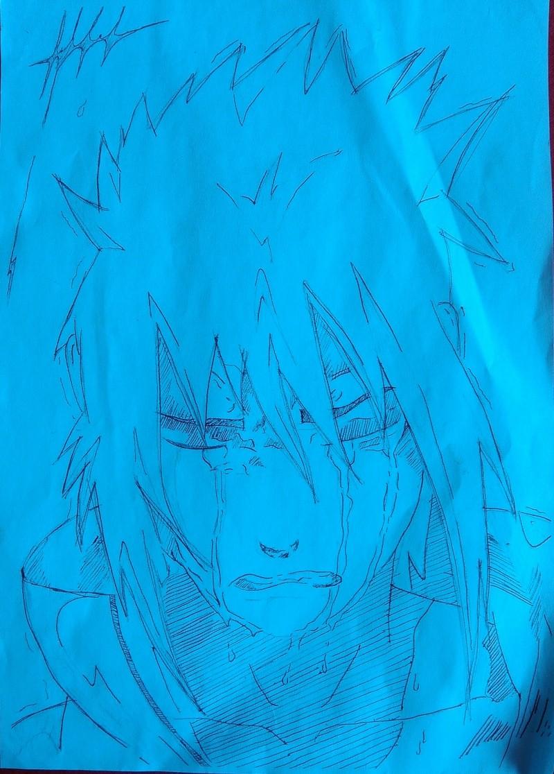 Petite galerie dessins Naruto divers  Sasuke10