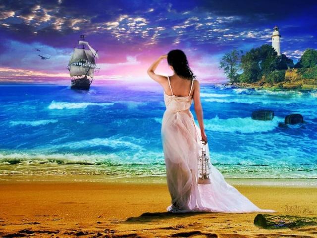 Image inspiratrice : A l'horizon... (archivage des textes) Bateau10