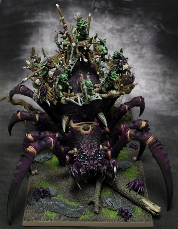 Galerie d'inspiration- Les figurines de Gobz - Page 2 Arachn12