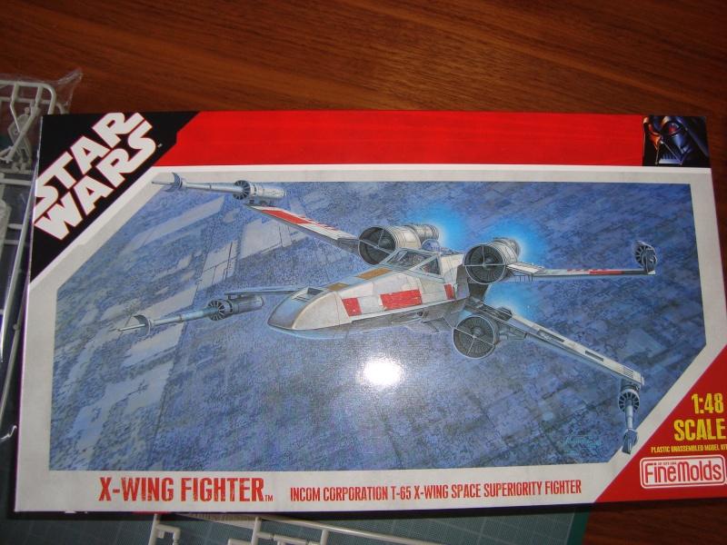 X-Wing Fighter Star Wars, 1/48 FineMolds Dsc02112