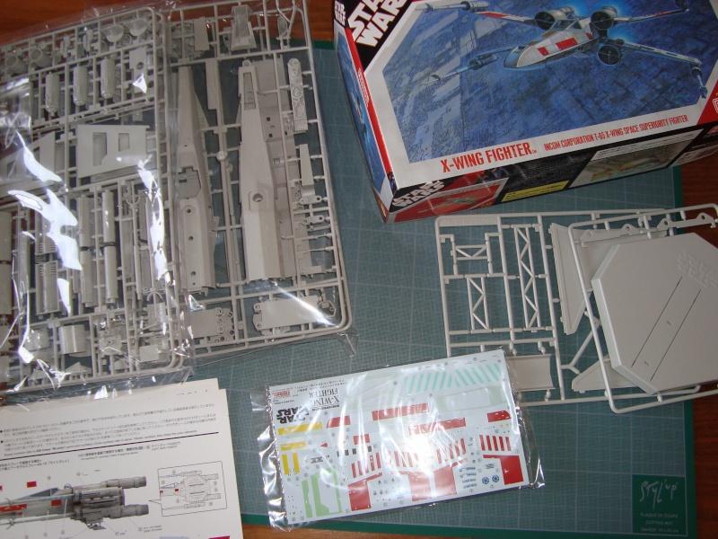 X-Wing Fighter Star Wars, 1/48 FineMolds Dsc02113