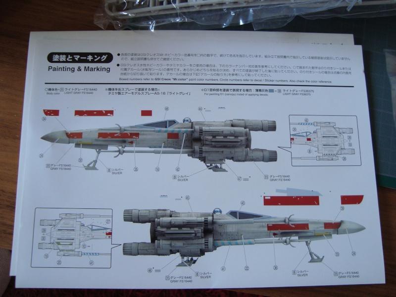 X-Wing Fighter Star Wars, 1/48 FineMolds Dsc02114