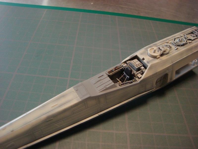 X-Wing Fighter Star Wars, 1/48 FineMolds Dsc02122