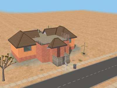 Cherche photo/plan (ou même détails) d'une des maison de Zarbille dans les sims 2 Snapsh11