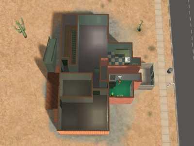 Cherche photo/plan (ou même détails) d'une des maison de Zarbille dans les sims 2 Snapsh13