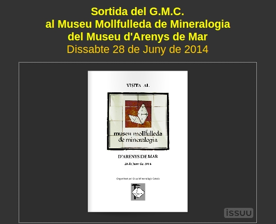 RESSENYA sortida dissabte 28-06-14 Museu Mollfulleda Ressen14