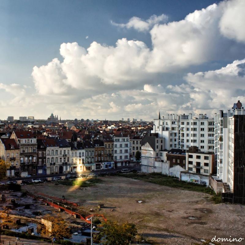 Croissant de soleil sur Bruxelles Croiss10
