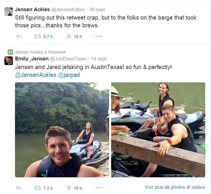 Le Twitter/FB/Insta de Jensen et Danneel 3010