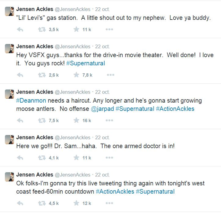 Le Twitter/FB/Insta de Jensen et Danneel - Page 2 4110