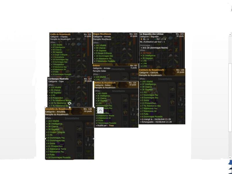 Pandawa Eau/Feu, quels equipements pour le lvl 150 ?  45454510