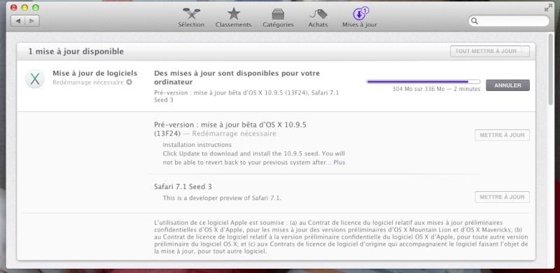 Dev 10.9.5 (13F24) 2mn10