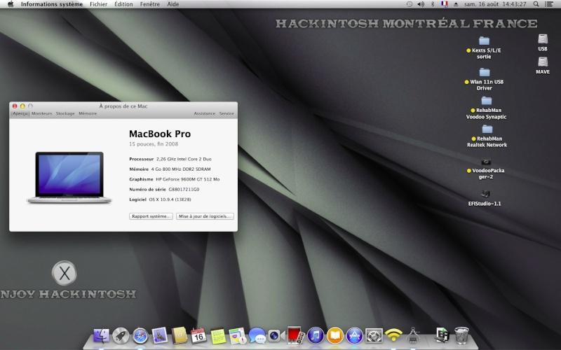 Installer OS X Mavericks V13 Chris10