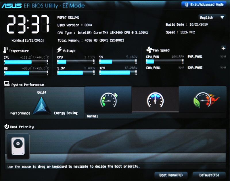 comment savoir si vous avez un BIOS UEFI ou LEGACY Uefi10
