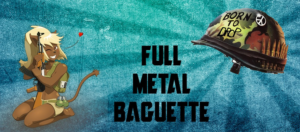 <div align=center>Bienvenue sur le forum de la guilde Full Metal Baguette</div>