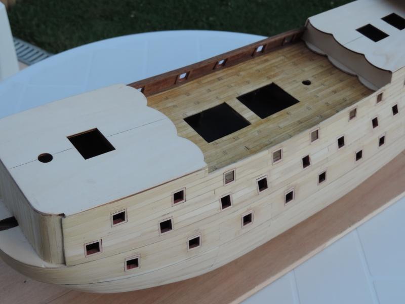 Montage de mon premier modele le Sovereign of the Seas  - Page 3 1-24910