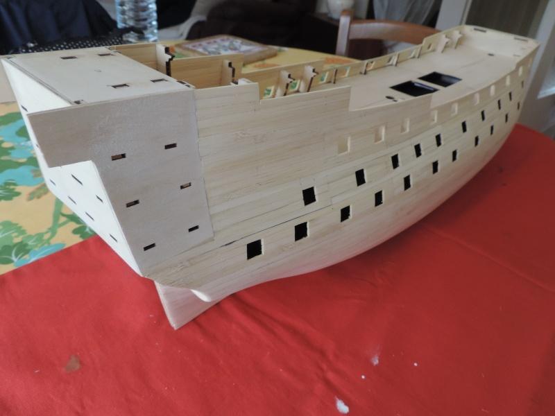 Montage de mon premier modele le Sovereign of the Seas  - Page 2 111