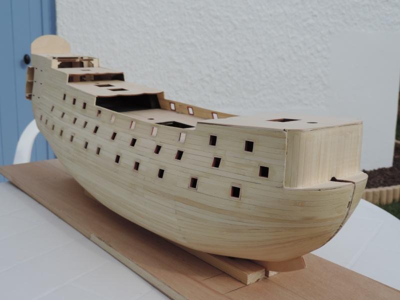 Montage de mon premier modele le Sovereign of the Seas  - Page 2 113