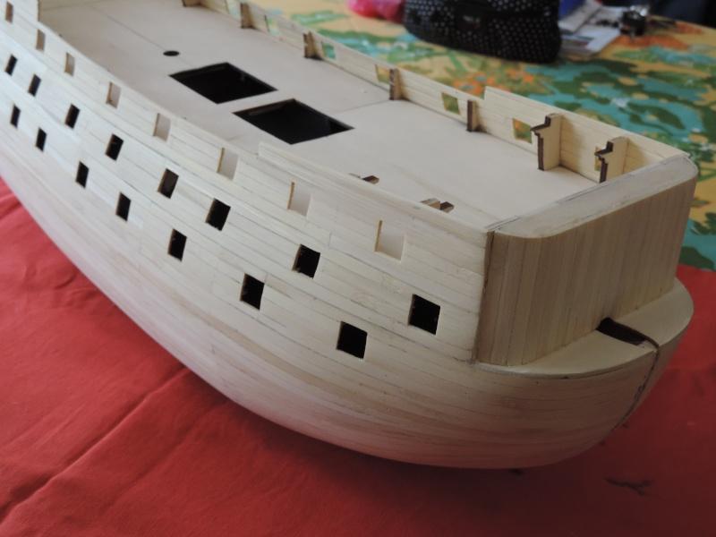 Montage de mon premier modele le Sovereign of the Seas  - Page 2 210