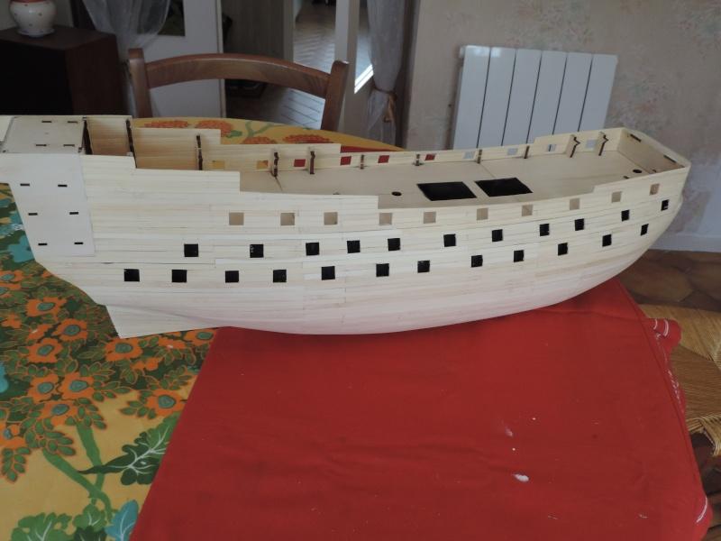 Montage de mon premier modele le Sovereign of the Seas  - Page 2 410