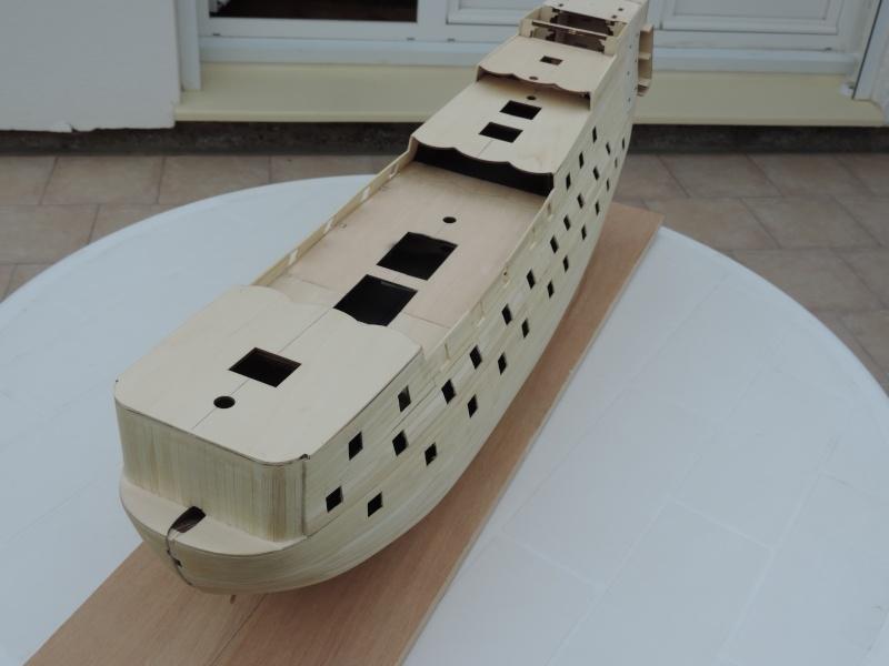 Montage de mon premier modele le Sovereign of the Seas  - Page 2 411