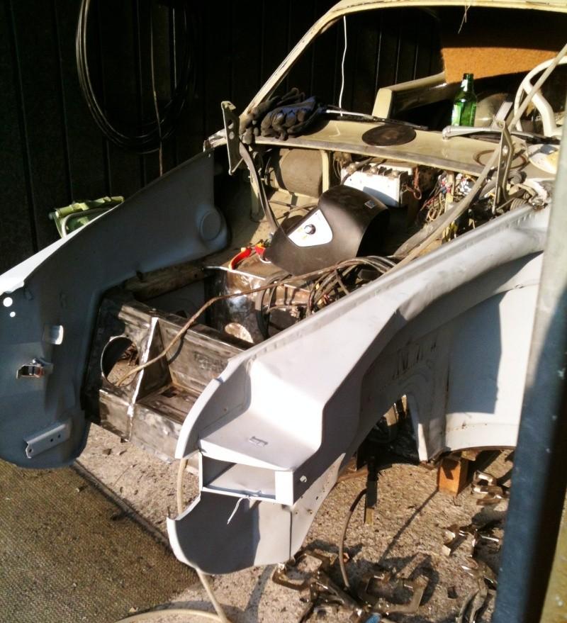 Ma Karmann en restauration apres accident frontale Stehbl14