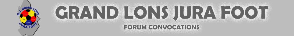 Forum - GRAND LONS JURA FOOT