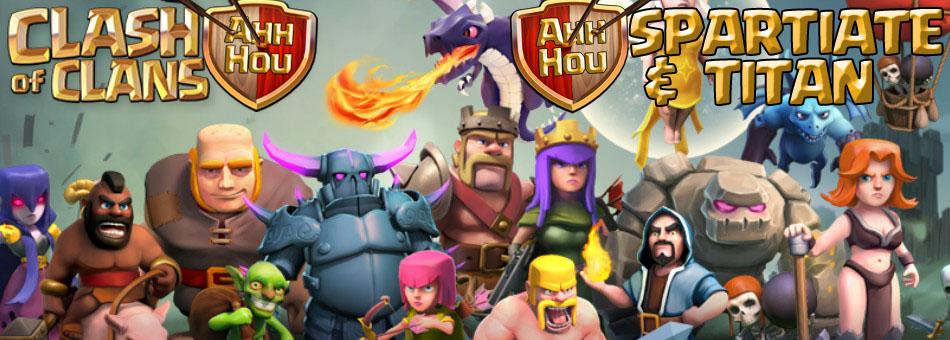 créer un forum : clash of clan TITAN Sparti11